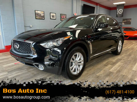 2017 Infiniti QX70 for sale at Bos Auto Inc in Quincy MA