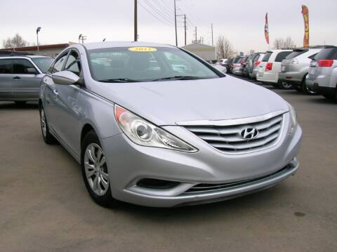 2011 Hyundai Sonata for sale at Avalanche Auto Sales in Denver CO
