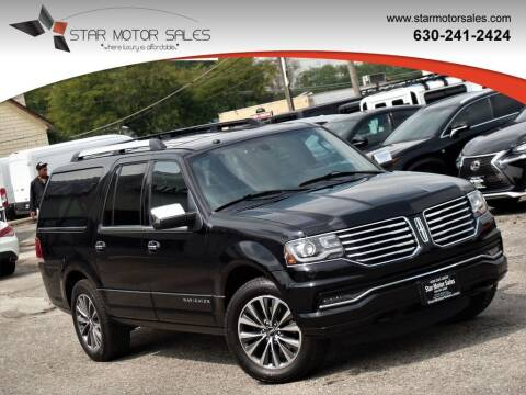 2017 Lincoln Navigator L for sale at Star Motor Sales in Downers Grove IL