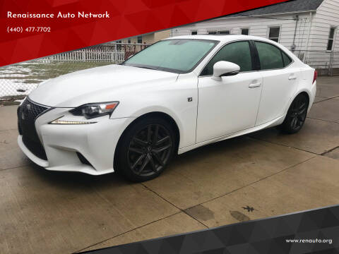 2016 Lexus IS 200t for sale at Renaissance Auto Network in Warrensville Heights OH