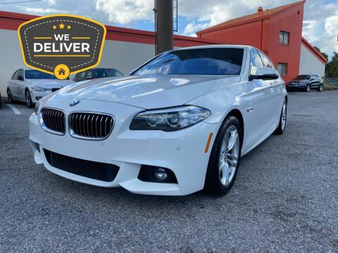 2014 BMW 5 Series for sale at JC AUTO MARKET in Winter Park FL