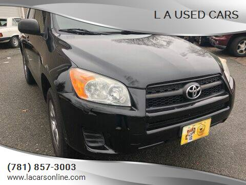 2011 Toyota RAV4 for sale at L A Used Cars in Abington MA