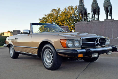 1980 Mercedes-Benz 450 SL for sale at European Motor Cars LTD in Fort Worth TX