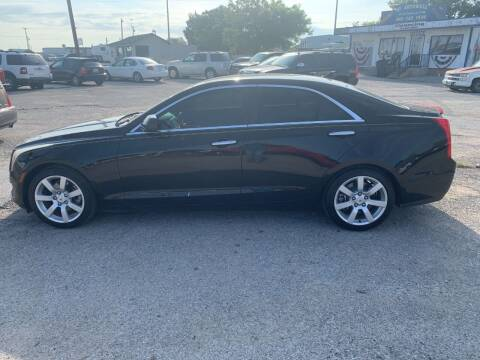 2013 Cadillac ATS for sale at WF AUTOMALL in Wichita Falls TX
