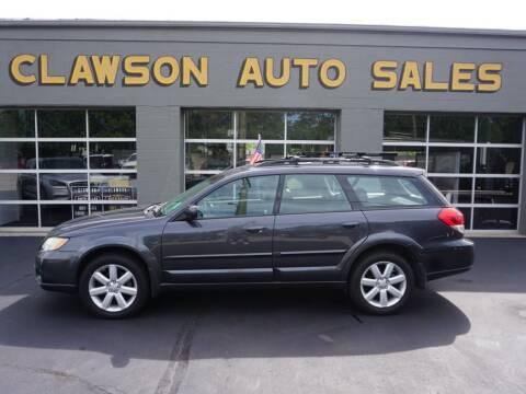 2008 Subaru Outback for sale at Clawson Auto Sales in Clawson MI
