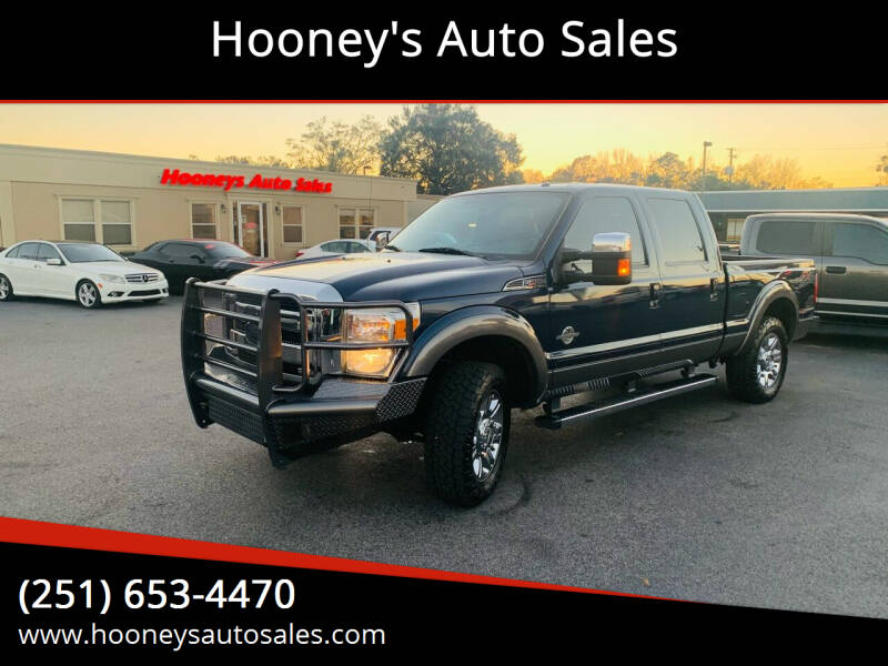 2013 Ford F-250 Super Duty for sale at Hooney's Auto Sales in Theodore AL