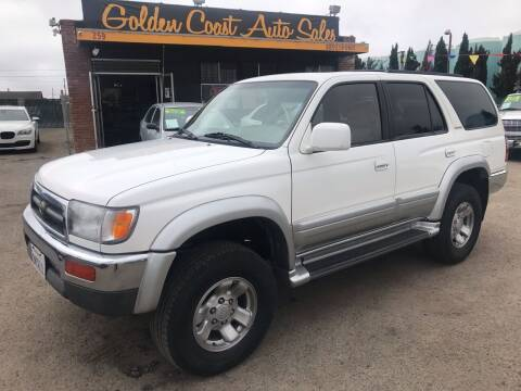 1997 Toyota 4Runner for sale at Golden Coast Auto Sales in Guadalupe CA