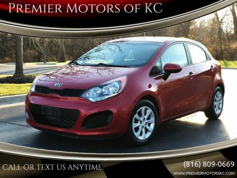 2013 Kia Rio 5-Door for sale at Premier Motors of KC in Kansas City MO