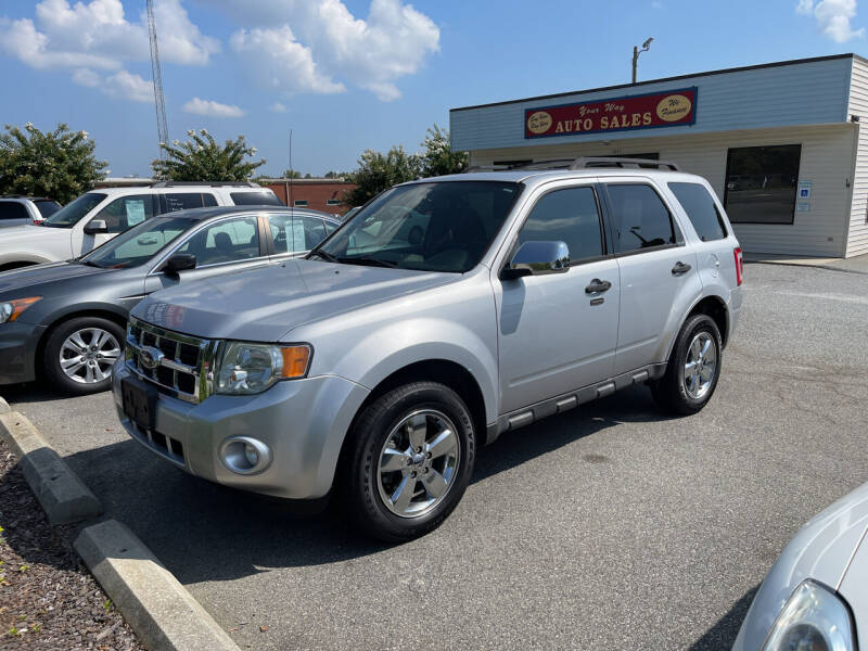 2012 Ford Escape for sale at YOUR WAY AUTO SALES INC in Greensboro NC
