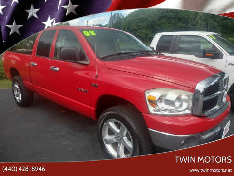 2008 Dodge Ram Pickup 1500 for sale at TWIN MOTORS in Madison OH