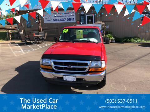 2000 Ford Ranger for sale at The Used Car MarketPlace in Newberg OR