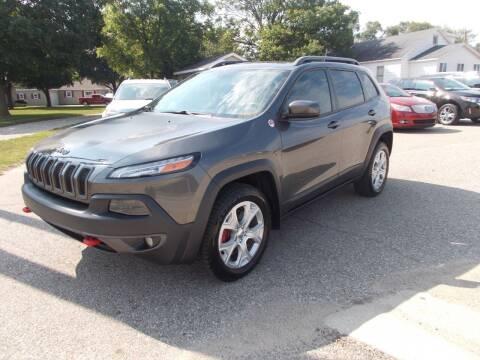 2014 Jeep Cherokee for sale at Jenison Auto Sales in Jenison MI