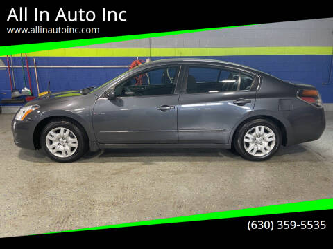 2010 Nissan Altima for sale at All In Auto Inc in Addison IL