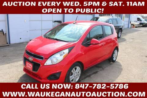 2013 Chevrolet Spark for sale at Waukegan Auto Auction in Waukegan IL