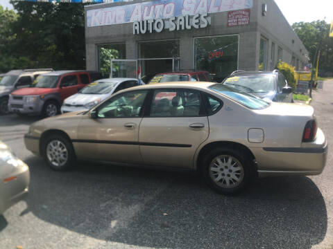 2004 Chevrolet Impala for sale at King Auto Sales INC in Medford NY