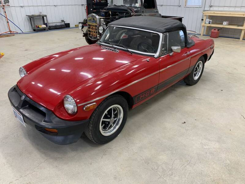 1978 MG MGB for sale at Simon Automotive in East Palestine OH