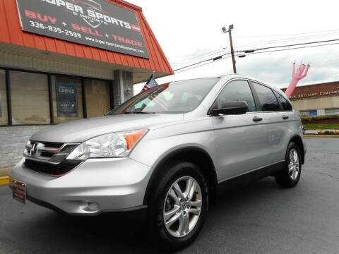 2010 Honda CR-V for sale at Super Sports & Imports in Jonesville NC