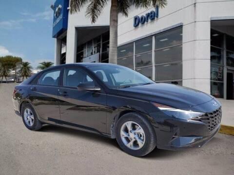 2021 Hyundai Elantra for sale at DORAL HYUNDAI in Doral FL