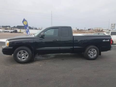 2005 Dodge Dakota for sale at D AND D AUTO SALES AND REPAIR in Marion WI