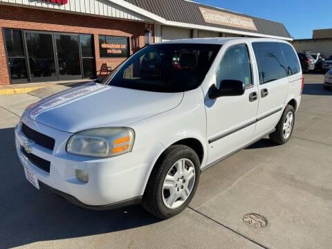 2008 Chevrolet Uplander for sale at Eden's Auto Sales in Valley Center KS
