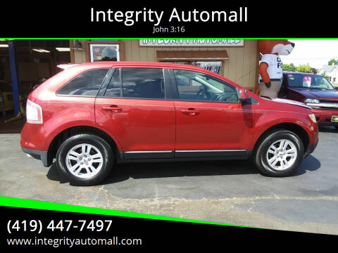 2008 Ford Edge for sale at Integrity Automall in Tiffin OH