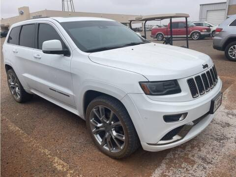 2016 Jeep Grand Cherokee for sale at STANLEY FORD ANDREWS in Andrews TX