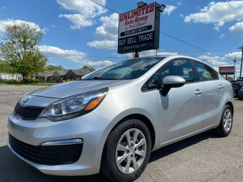 2016 Kia Rio for sale at Unlimited Auto Group in West Chester OH
