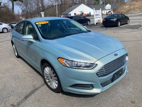 2014 Ford Fusion Hybrid for sale at USA Auto Sales in Leominster MA