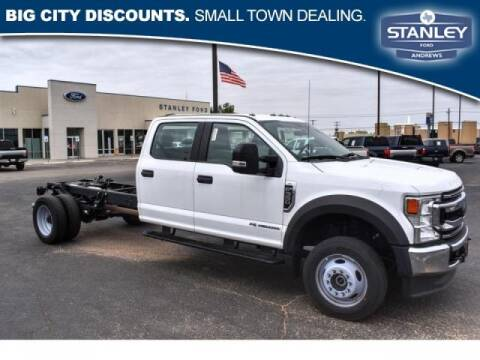 2020 Ford F-550 Super Duty for sale at STANLEY FORD ANDREWS in Andrews TX