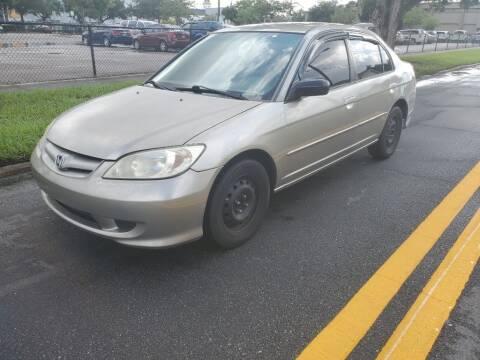 2005 Honda Civic for sale at Carlando in Lakeland FL