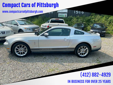 2010 Ford Mustang for sale at Compact Cars of Pittsburgh in Pittsburgh PA