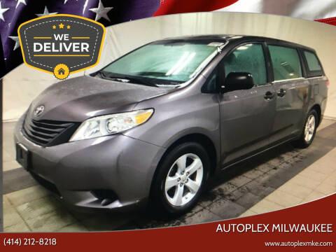 2013 Toyota Sienna for sale at Autoplex 2 in Milwaukee WI