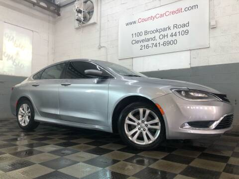 2015 Chrysler 200 for sale at County Car Credit in Cleveland OH