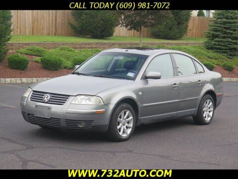 2004 Volkswagen Passat for sale at Absolute Auto Solutions in Hamilton NJ