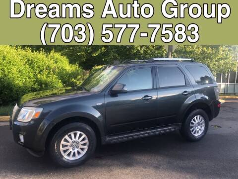 2009 Mercury Mariner for sale at Dreams Auto Group LLC in Sterling VA