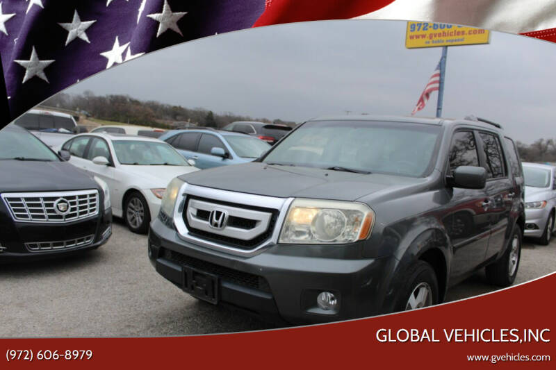 2009 Honda Pilot for sale at Global Vehicles,Inc in Irving TX