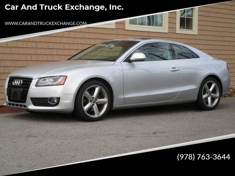 2009 Audi A5 for sale at Car and Truck Exchange, Inc. in Rowley MA