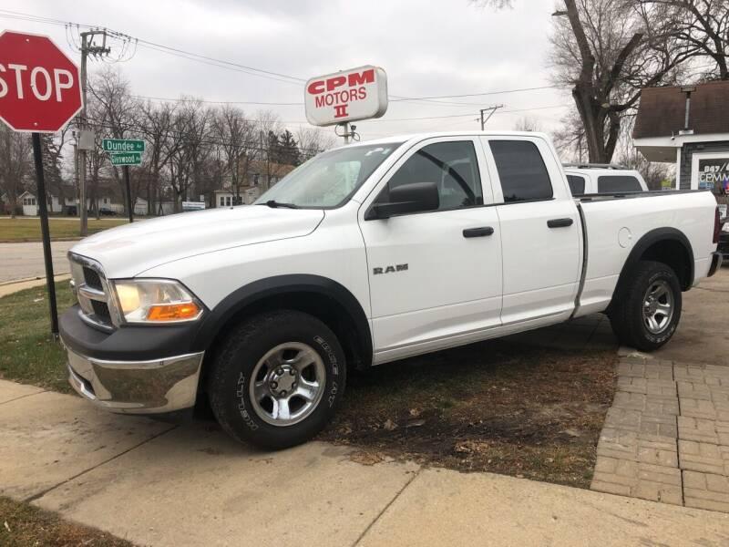 2010 Dodge Ram Pickup 1500 for sale at CPM Motors Inc in Elgin IL