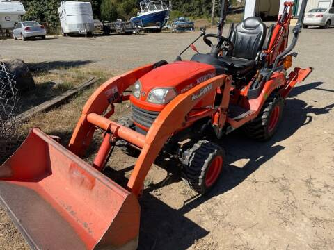 2021 Kubota BX25TLB for sale at DirtWorx Equipment - Used Equipment in Woodland WA