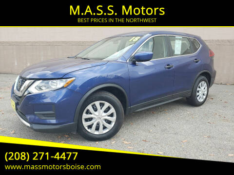 2018 Nissan Rogue for sale at M.A.S.S. Motors in Boise ID