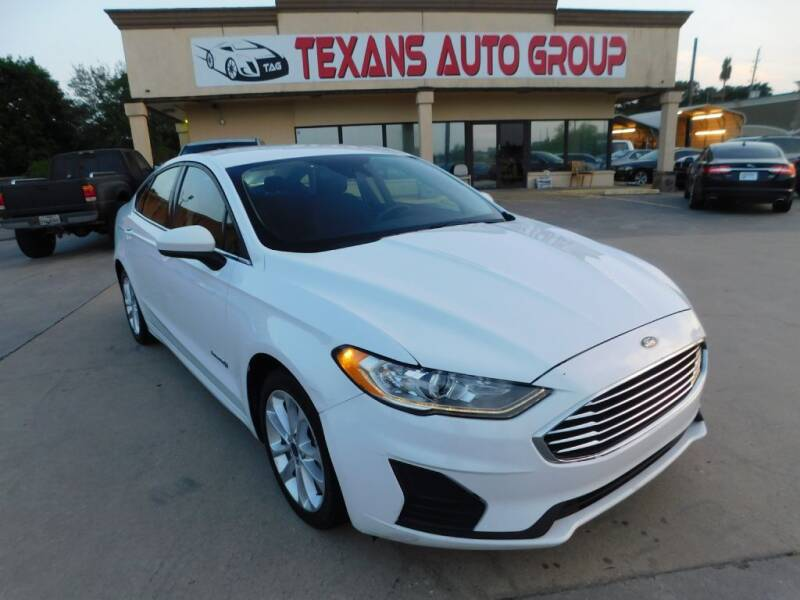 2019 Ford Fusion Hybrid for sale in Spring, TX