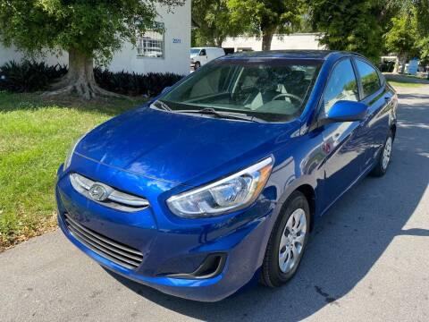 2017 Hyundai Accent for sale at Roadmaster Auto Sales in Pompano Beach FL