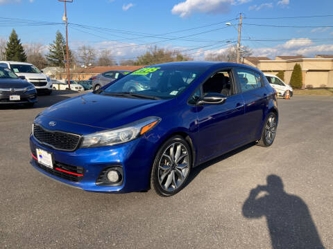 2017 Kia Forte5 for sale at Majestic Automotive Group in Cinnaminson NJ