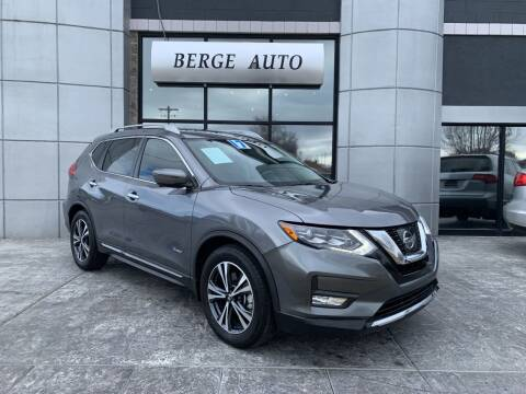 2017 Nissan Rogue Hybrid for sale at Berge Auto in Orem UT