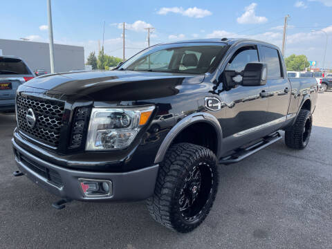 2016 Nissan Titan XD for sale at Top Line Auto Sales in Idaho Falls ID