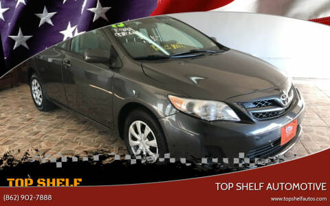 2013 Toyota Corolla for sale at TOP SHELF AUTOMOTIVE in Newark NJ