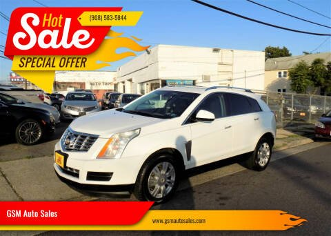 2015 Cadillac SRX for sale at GSM Auto Sales in Linden NJ
