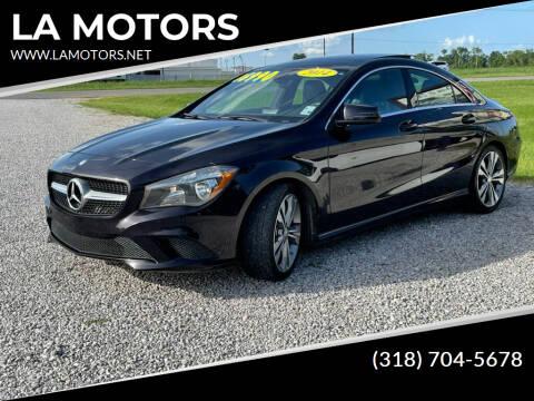 2014 Mercedes-Benz CLA for sale at LA MOTORS in Alexandria LA