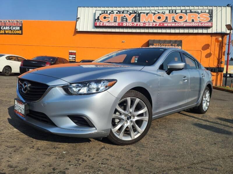2017 Mazda MAZDA6 for sale at City Motors in Hayward CA
