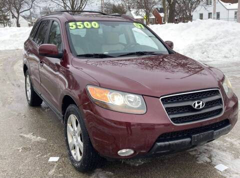 2007 Hyundai Santa Fe for sale at Square Business Automotive in Milwaukee WI